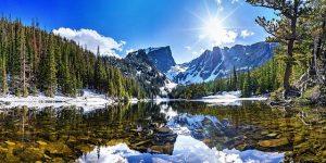 scenic mountain range in Colorado