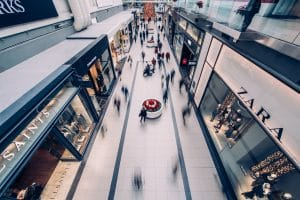 active mall floor